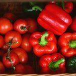 Paprika, Tomaten